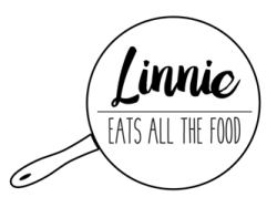 LINNIE EATS ALL THE FOOD